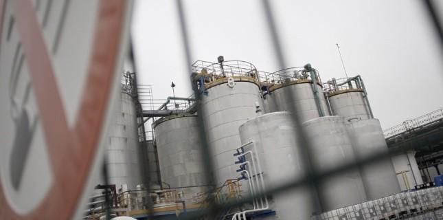 L'usine Lubrizoil d'où s'est échappé le gaz, dans la nuit de lundi à mardi 22 janvier. (AFP)