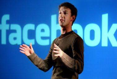 Mark Zuckerberg, fondateur de Facebook