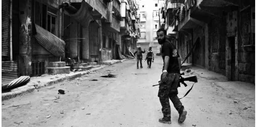 A Alep, en avril 2013 (Sipa)