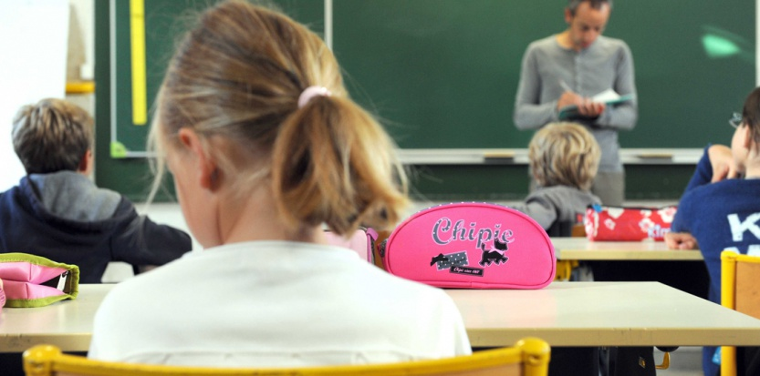 Dans une école à Nantes (Sébastien Salom-Gomis/Sipa)