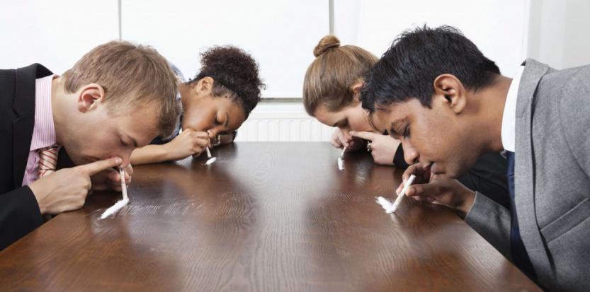 L'usage des stupéfiants augmente parmi la population des cadres Sipa