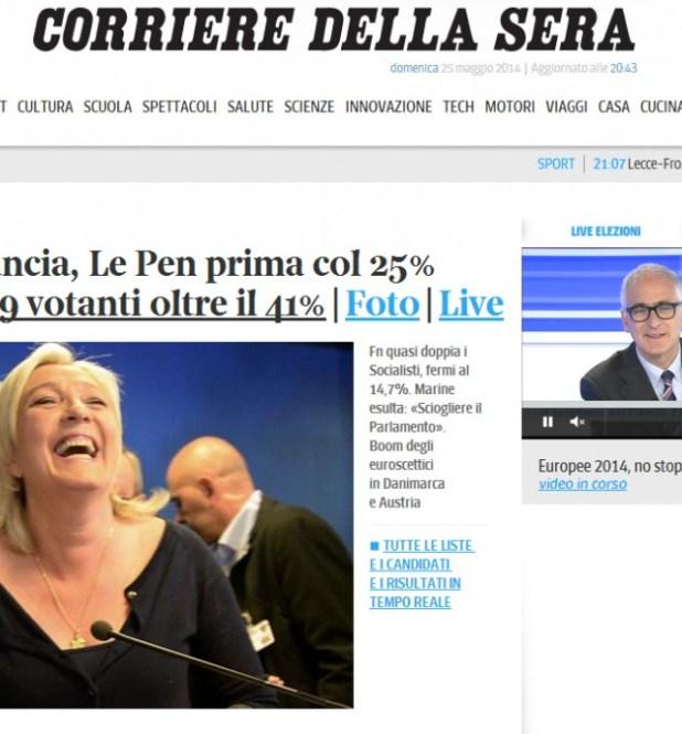 7353578 Européennes : le triomphe du FN, un choc pour la classe politique selon Valls