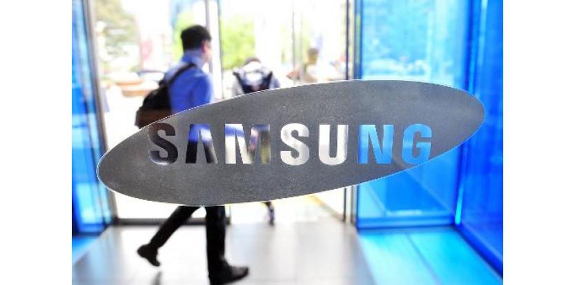 Le logo de Samsung (c) Afp