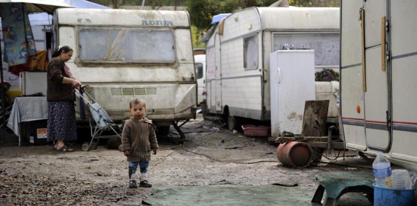 En avril 2011, à Corbeil-Essonnes. (ERIC FEFERBERG/AFP)