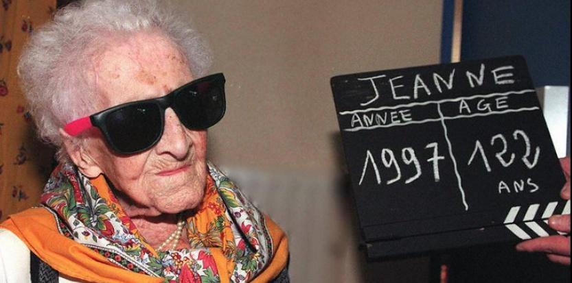 Personne n'a réussi à dépasser ou égaler le record de longévité établi par Jeanne Calment, morte en 1997 à l'âge de 122 ans. ©GEORGES GOBET/AFP