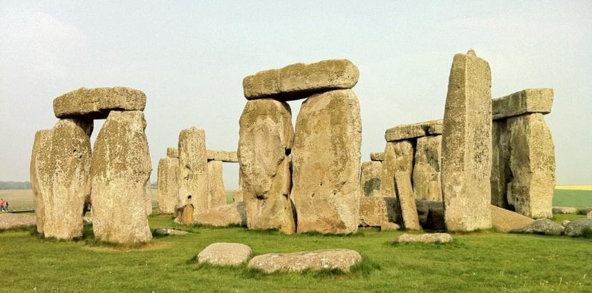 Stonehenge, l'un des plus importants sites mégalithiques au monde (JPF)