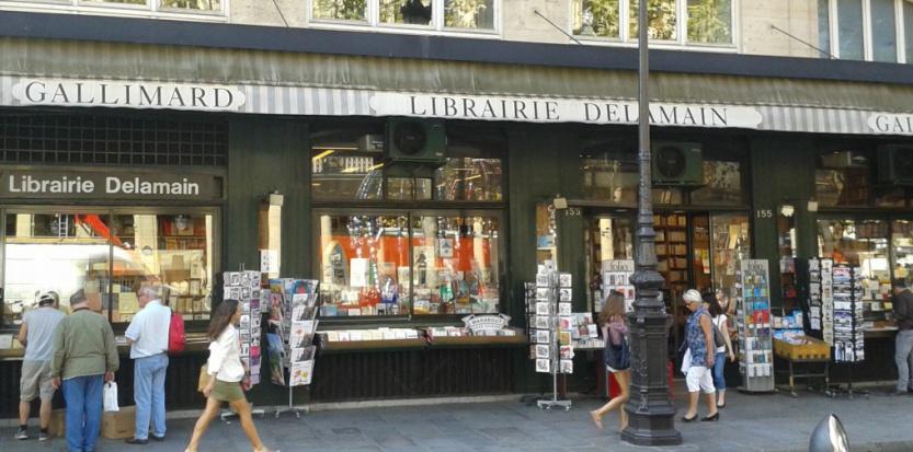 La librairie Delamain Bibliobs