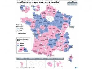 Départementales : les enjeux du scrutin en 2 cartes et 5 infographies