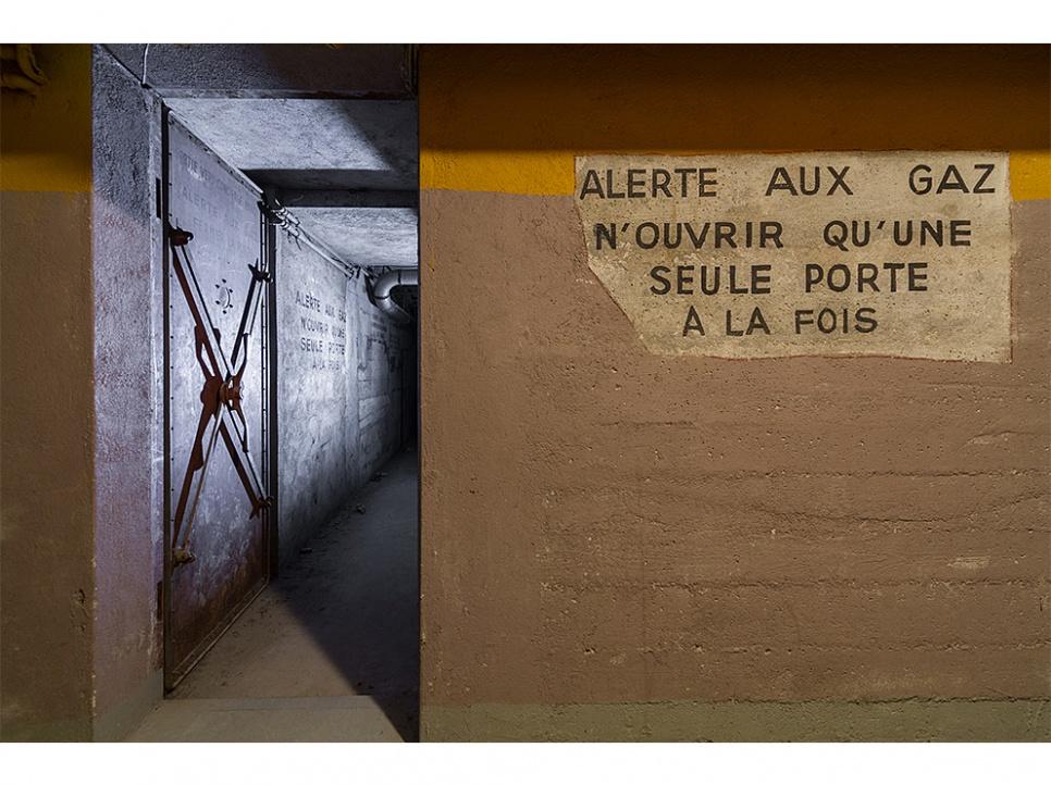 Sous le palais de Chaillot