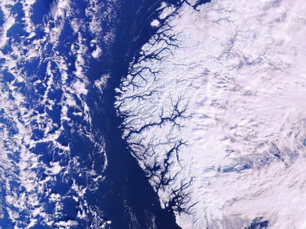 Fjords et glaciers