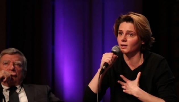 Caroline Fourest aux Journées de Nantes, le 13 avril 2013. (Cyril Bonnet/Le Nouvel Observateur)