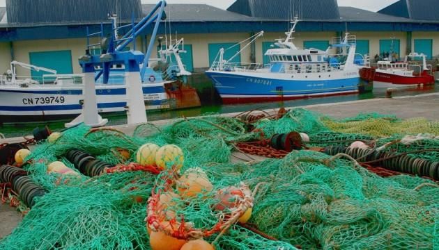 Le port de pêche de Port-en-Bessin, en 2009 dans le Calvados (M.GILE/SIPA).