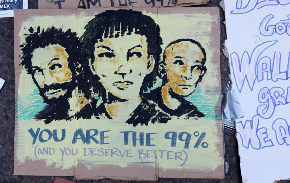 You are the 99 % (and you deserve better)