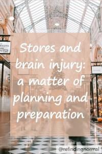 pin stores and brain injury