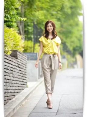 堀本陽子のスタイルが美しい