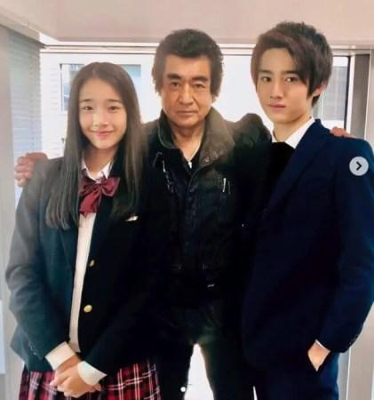 藤岡弘の息子と娘
