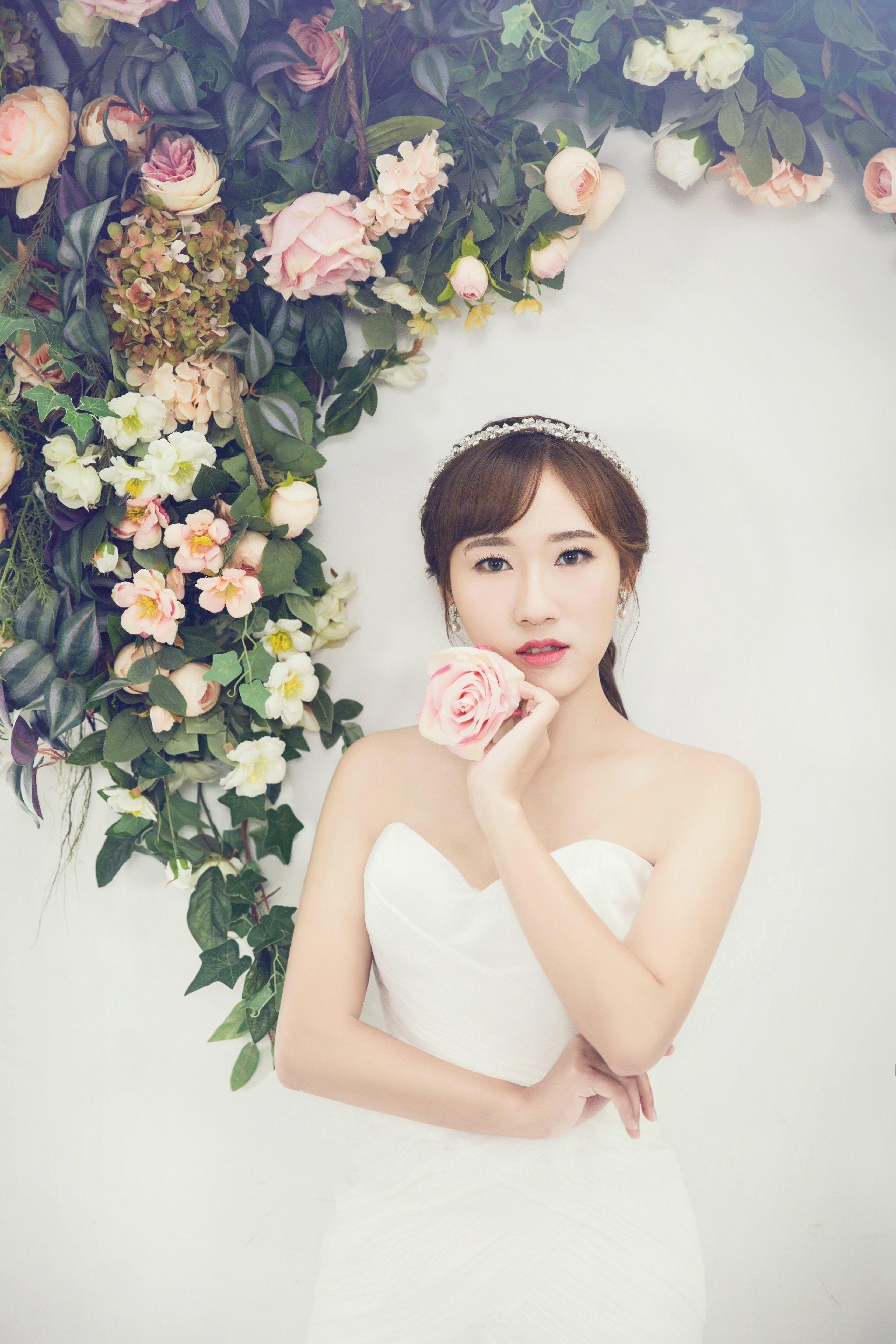 attractive-beautiful-bride-236194