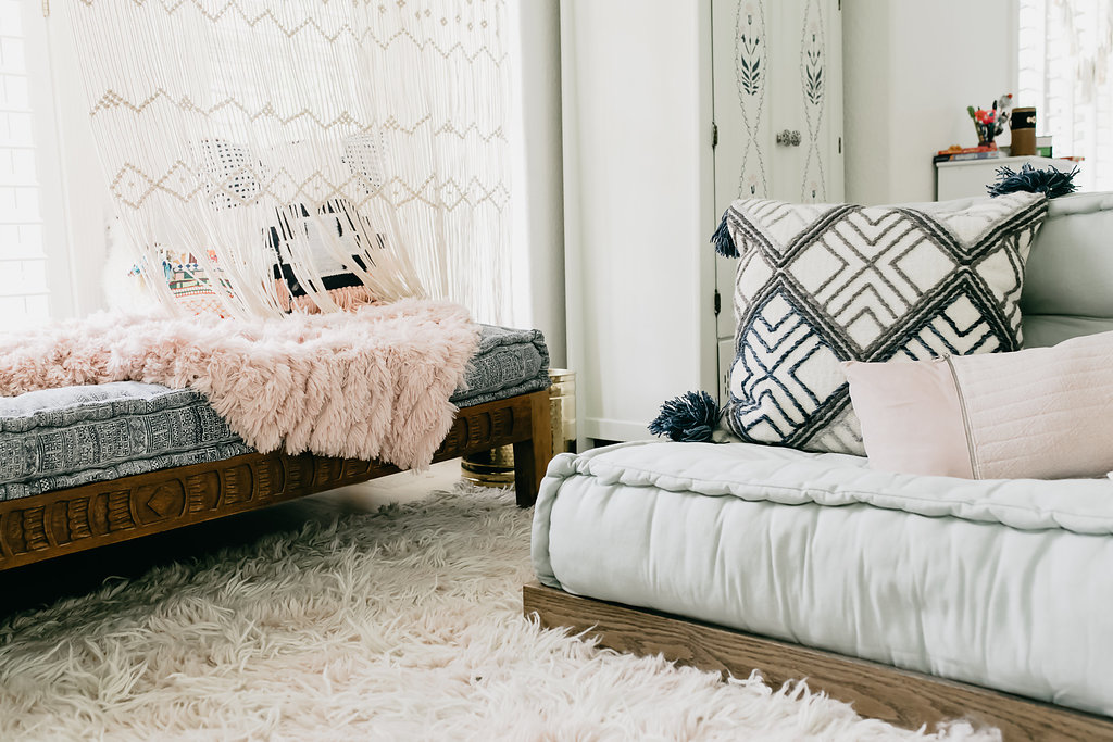 Chic Girl's Bedroom by Refine Studios