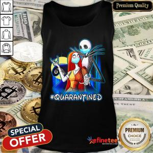 Top Jack And Sally Quarantined Tank Top - Design By Refinetee