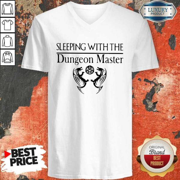 Pretty Sleeping With The Dungeon Master V-neck