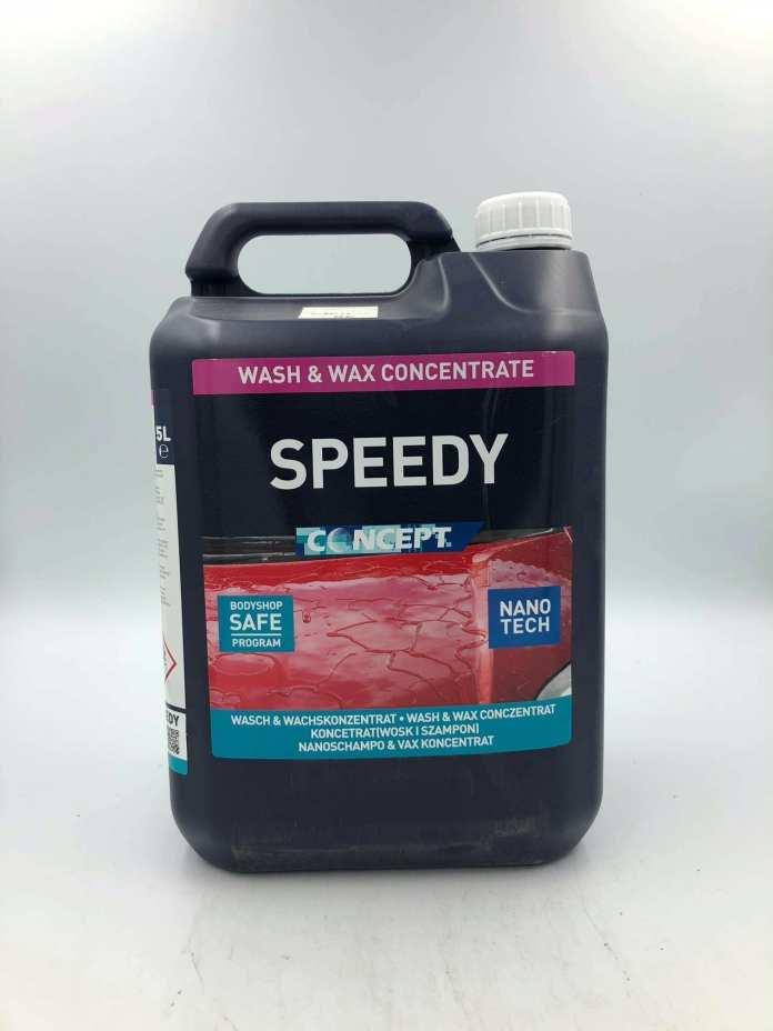 concept speedy nano wash & wax 5l | valeting supplies | refinish