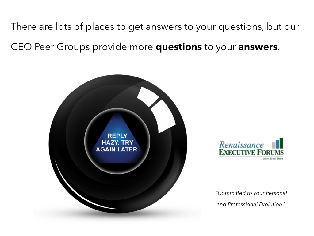 Getting Answers Is Easy…