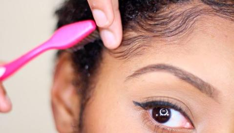 #LatinaBeauty : How I Lay My Baby Hair