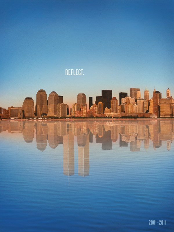 9/11 Reflect Poster