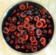 hulled cherries