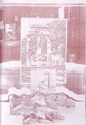 Plakatentwurf für die Stuttgarter Nichtsesshaftenhilfe 1988 (aus Kinky Copies), Sammlung Georg Mühleck