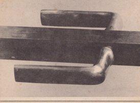 Aktion Putzen von Wolf Vostell, Karte vierteilig, Seite 1, Sammlung Decker
