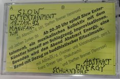 Slow Entertainment18. Januar 1992, Sammlung Christa Düwell