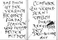 Text aus dem Buch über Codes. (designbuch Verlag, Cremlingen)