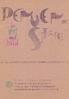 Perversitäten in Wort und Bild, DIN A4, Sammlung Decker
