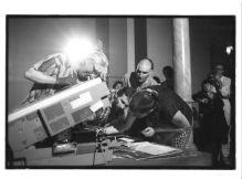 50 Jahre Xerox-Festival, Schweiz. Albrecht/d. mit Georg Mühleck, F. Vogel und M. Vänci Stirnemann
