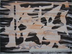 """""""Nashörner bei der Seeschlacht von Trafalgar"""", 1998, Sammlung Gert Wiedmaier"""