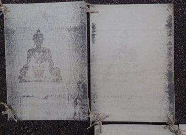 Verschwindender Buddha, 6-teiliges Ensemble, Detail