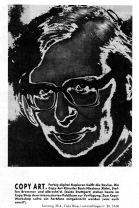 Ankündigung zum Copy Workshop am 28.04.1990 in Stuttgart live 04/1990