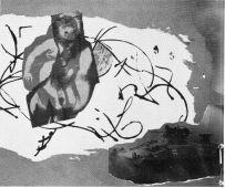 """Abbildung im Innern des """"Manufaktur""""-Programmhefts vom Januar 1992. Bild zu """"Die Schönheit der Waffen..."""""""