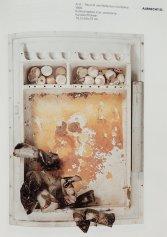 """Objekt """"A) R - Raum wie Reflection..."""", 1968, Abbildung in Katalog """"Im Material"""" Württ. Ku Verein 1986/87"""