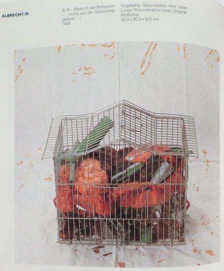 "Objekt ""B) R - Raum wie Reflection..."", 1968, Abbildung in Katalog ""Im Material"" Württ. Ku Verein 1986/87"