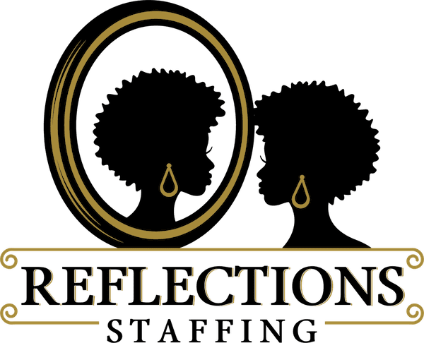 Reflections Staffing Logo