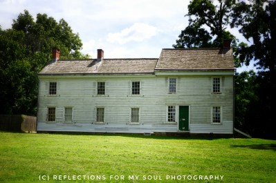 Back of Clarke House