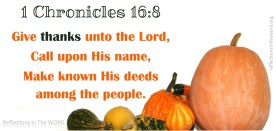 1 Chronicles 16:8