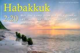 Habakkuk 2:20