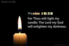 Psalm 18:28