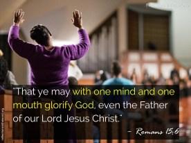 Romans 15:6
