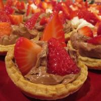 Sweet Strawberry Canapés