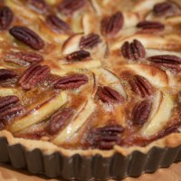 Autumn Pecan, Apple and Pear Tart