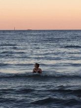 Swimming in the Baltic sea, September 2016
